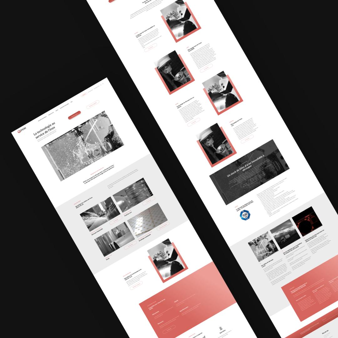 DVAI – Site vitrine // Industrie
